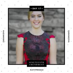 Day 17: More love to go around with this Zarankova Affection dress