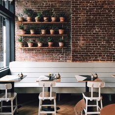 Brunswick Cafe in Brooklyn / photo by Patrick Janelle