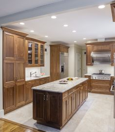 Elmwood Cabinetry, Walnut Cabinets, Pantry Cabinet, Island End Cabinets