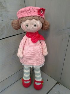 Like the colors Crochet Doll Pattern, Crochet Dolls, Knit Crochet, Crochet Patterns, Crochet Hats, Stitch Doll, Barbie, Crochet Doll Clothes, Doll Tutorial