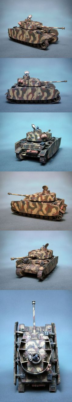 PzKpfw IV Ausf H Waffen SS III PzD Totenkopf Commission Painting Scale: 1/56(28mm) Manufacturer: Warlord Games UK Game: BOLT ACTION Painted by: OMP(Olsianon Miniatures Painting)