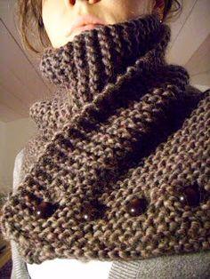 Merci Cirilia Rose...   idee van Ravelry/ idée de Ravelry, wol Eskimo mix / laine Eskimo mix, knoopjes Hexagoon / bouton Hexagoon.   Le t...