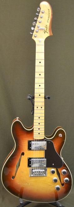 1977 Fender Starcaster Sunburst Old