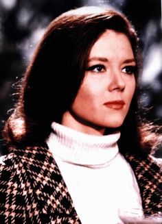 Diana Rigg - The Avengers - TV show 1960s.