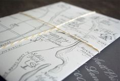"""Using a fun, personalize inner envelope creates a wow factor for your guests to """"aw"""" over."""