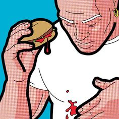 In his pop art illustrated series, French illustrator Grégoire Guillemin imagines the secret lives of superheroes and comic book characters… Art And Illustration, Art Illustrations, Cultura Pop, Comic Kunst, Comic Art, Internet Friends Meeting, Mr Clean, Humor Grafico, Animes Wallpapers