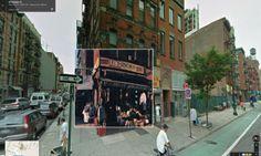 Portadas de discos superpuestas en Google Street