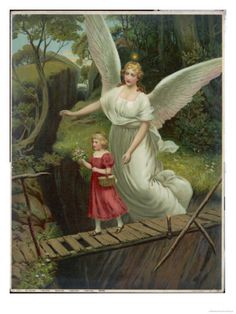 Growing up, my mother had a picture similar to this one, but hers had a boy & a girl on the bridge. Loved it.