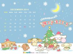 #Sanrio December calendar <3 #Cinnamoroll