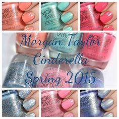 Morgan Taylor partnered with Disney's Cinderella for the Spring 2015 Morgan Taylor Cinderella collection. Check it out!