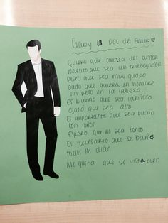 Spanish Subjunctive Students write 10 sentences using the subjunctive. The prompt was: You are looking for a boyfriend/girlfriend and need to make a list of ten things you would like this person to have or be. Subjunctive Spanish, Spanish Grammar, Ap Spanish, Spanish Teacher, Spanish Classroom, Classroom Fun, Teaching Spanish, Learn Spanish, Spanish Basics