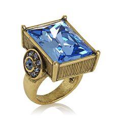 """Heidi Daus """"Fabulous Rocks"""" Crystal Statement Ring"""