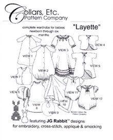 excellent Layette pattern