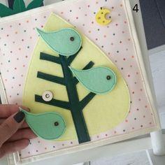 Busy Book Felt Quiet Book Activity Book First Book