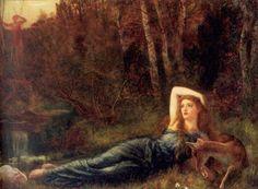 Endymion- Arthur Hughes  Pre Raphaelite Art: April 2012
