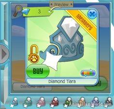 New Ocean Diamond Shops in Animal Jam Diamond Shop, Diamond Tiara, Diamond Clothing, Animal Jam, Shops, Ocean, Animals, Shopping, Tents