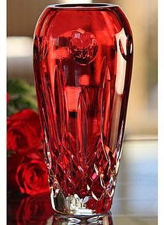 Waterford Lismore bud vase. I love this vase. i'd never put flowers in it! (just fill it with skittles...) ;-)