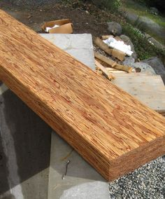Best Table Made From A Piece Of A Weyerhaeuser Parallam Beam 400 x 300