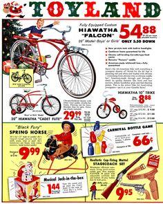 :: Retro Vintage Christmas Ads and Holiday Art :: Toyland, 1959 … Christmas Catalogs, Christmas Toys, Retro Christmas, Christmas Adverts, Christmas Cards, Summer Christmas, Xmas, Christmas Graphics, Modern Christmas