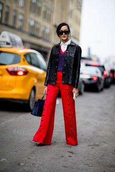 New York Fashion Week Street Style Day 7 Fall 2017, NY Fashion Week, NYFW, Runway, TheImpression.com - Fashion news, runway, street style, models