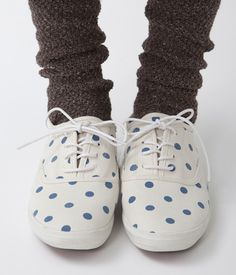 sock, shoes, fashion shoe, polka dots, summer outfits, shoe galleri, shoe collect, canvases, spot