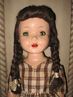 "~ Pretty ""Rita"" Doll ~ (1950's) Paris Doll Company"