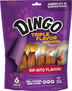 Dingo Triple Flavor Skewers, 4 oz. (P-94020) >>> Click image to review more details. (This is an affiliate link and I receive a commission for the sales)