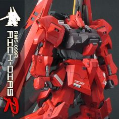 Custom Build: HGUC 1/144 Rick Dias - R - - Gundam Kits Collection News and Reviews