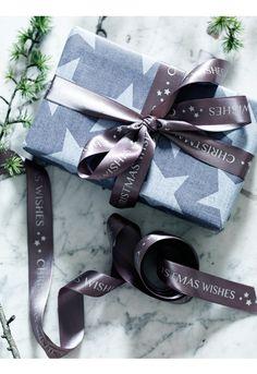 NEW Stars Gift Ribbon - Christmas