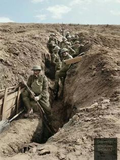 12th Brigade, 4th Australian Division dug in advanced front trenches. 29 th of spt. 1917