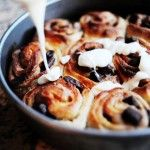 Chocolate chip cinnamon rolls.  Many more of these recipes and I'll have rolls.  OH SNAP.