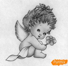 Auf folgende Seite erkennen Sie, wie kann man einen Engel zum Valentinstag zeichnen. Die Anleitung finden Sie hier. Probieren Sie mal...