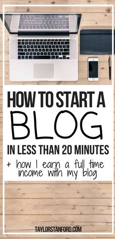How to create a blog fast and make money blogging. The newbies guide to becoming a blogger. #blogging #bloggingtips #startablog