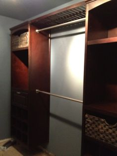 allen roth closet organization   Because weu0027re running the hardwood  throughout the house,