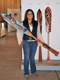 Dek'ama Sit Down on Trail by Loretta Qock Sort #NWCCBC #Aboriginal #Art #FirstNations