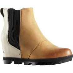 9c6e33b952f Sorel - Joan of Arctic Wedge II Chelsea Boot - Women s - Camel Brown Color  Block