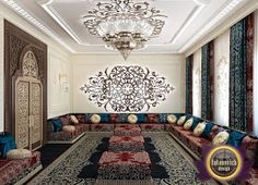 LUXURY ANTONOVICH DESIGN UAE: Arabic style in the interior of Luxury Antonovich Design