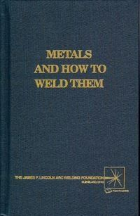 Metals and How To Weld Them: I highly recommend this hardback book from the James F. Lincoln foundation. It's called Metals And How To Weld Them. This book describes all the different