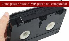 Se tens gravações ou vídeos nas antigas cassetes VHS que não gostarias de perder, ou que gostarias de voltar a ver sem ter que estar a ligar o velhinho leitor de cassetes, tens aqui o truque ideal para as puderes passar para o computador.