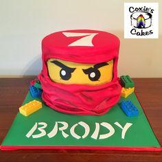 Ninjago Lego cake, Kai