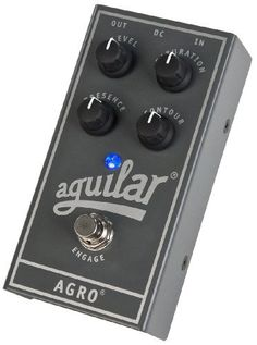 Aguilar AGRO Bass Distortion Effect Pedal by Aguilar. $179.00