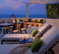 Sea View Premium Terrace #Suite at Monastero Santa Rosa #AmalfiCoast