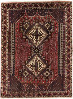SahreBabak - Afshar Persian Carpet 173x129