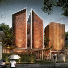 "1,013 Likes, 46 Comments - Andy Rahman (@andyrahman) on Instagram: ""Rumah Kos Purnama Pasuruan Architect in charge: @bang_ubay_arch #rumahkost #rumahkospurnama…"""