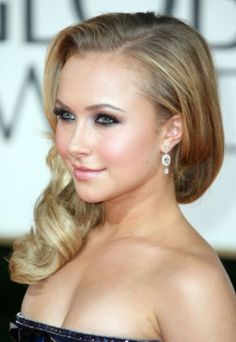 DO: Wear subtle amount of makeup.  There is such a thing as too much of one thing, and makeup is DEFINITELY one of them.  Hayden (sp?) Panettiere's makeup and hair in this photo is PERFECT... The over done eye shadow in dark colors is so aging. Love this look