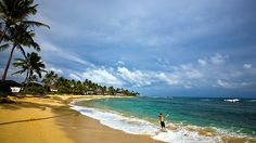 Poipu Beach, Kauai, HI...we spent a few days here on our honeymoon. So nice! I wouldn't mind going back!