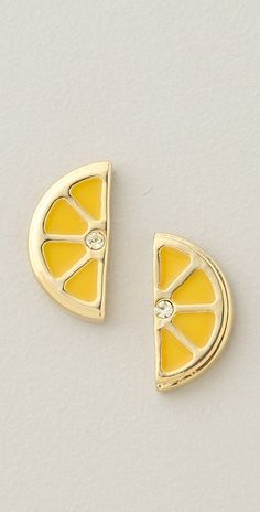 Lemon slice studs!