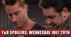 The Young and The Restless (Y&R) Spoilers: Wednesday July 29th Check more at https://soapshows.com/young-and-restless/spoilers/7-29-15