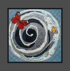 FREEDOM Acrylic  Framed $1450