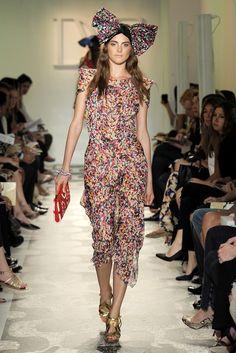 Diane von Furstenberg Resort 2010 Fashion Show - Marina Jamieson